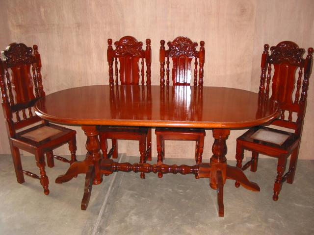 Comedores muebles peraza for Muebles comedores de madera